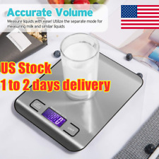 Kitchen Scale Electronic Food Weighing Scale Digital Measuring Gram Accurate USA