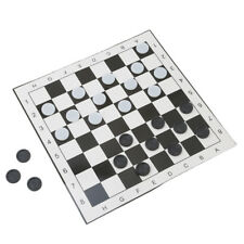 Magnetic Draughts Checkers Set in Folding Plastic Board Case Christmas Gift Fun
