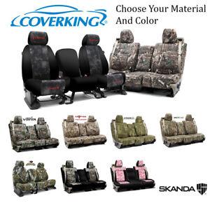 Coverking Custom Front Row Skanda Camo Seat Covers For Nissan Truck/SUVs