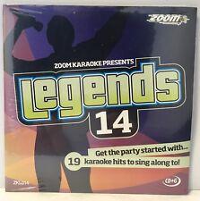Zoom Karaoke Legends Series CD+G - Vol 14 - Elkie Brooks, Kiki Dee, Bonnie Tyler