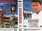 CADENCE - Charlie Sheen - VHS - PAL - NEW - Never played! - Original Oz release