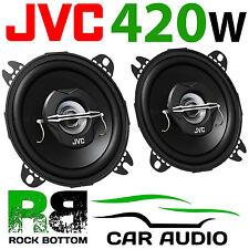 JVC 420 WATTS 4 Inch 10cm 2 Way Car Van Truck Door Dash Shelf Speakers Pair