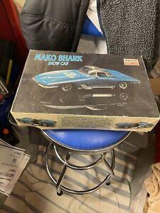 Mini Craft 1/20 Model Kits Mako Shark Model Car Kits Mint Very rare! Unbuilt!