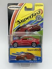 Matchbox Superfast 35th Anniversary BMW 3 Series Red Number 71 FREE SHIPPING