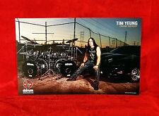 "3 THREE Divine Heresy ""Tim Yeung"" Sabian Ddrums Promo Poster Set<<>>Morbid Angel"