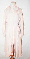 SONIA BY SONIA RYKIEL LIGHT PINK POLYESTER WOMEN TRENCH COAT SMALL MEDIUM