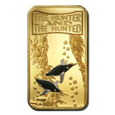 Somali Rep Penguins 25 Shillings 2013 Gold-plated Colored Coin