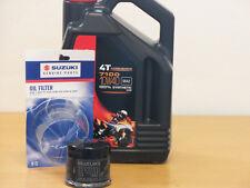 Motul Öl 7100 10W40  / Original  Ölfilter Suzuki GSR600 alle Modelle Bj 06 - 11