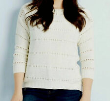 Autumn Crewneck Solid Jumpers & Cardigans for Women