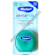 Wisdom Dental Floss Minted Wax 100m Bigger Value Pack