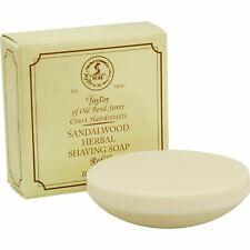 Taylor of Old Bond Street Sandalwood Shaving Soap Refill 100g