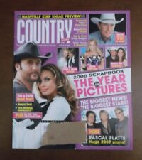 COUNTRY WEEKLY MAGAZINE JANUARY 15 2007 2006 SCRAPBOOK YEAR IN PICTURES FAITH