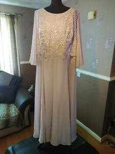 Nightingales - Mother Of The Bride Embroidered Dress - Size 24