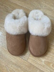 john lewis brand new sheepskin slippers chestnut size 4