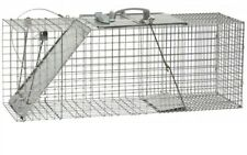Live Animal Cage Trap Rodent Control Large Rust Resistant Wire Mesh Steel