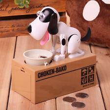 Kids Cute Choken Bako Coin Eating Dog Piggy Bank Saving Money Child Gift Boxes A