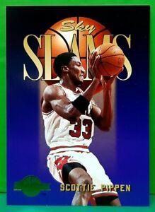 Scottie Pippen subset card 1994-95 Skybox Premium #310