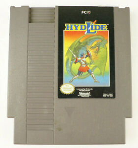 Hydlide AUTHENTIC Nintendo NES Video Game Cart (Cleaned; Tested)