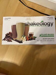 Vegan Shakeology Packet - Protein Powder -  Beachbody - Café Latte Vanilla Choc