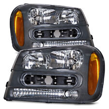 02-09 Chevrolet Trailblazer Lt/Ls/Ss Pair Set Headlights Headlamps Left Right