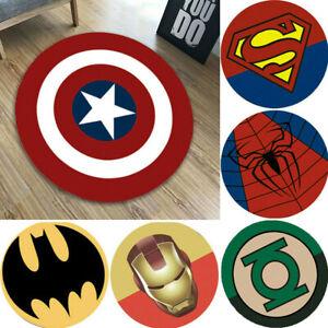 Marvel Captain America Carpet Non Slip Rugs Bathroom Mat Home Decor Kids Gifts