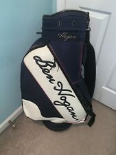 Ben Hogan Vintage Golf Bag Blue And White 6 Divider Pre-Owned!