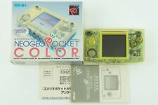 SNK Neogeo Pocket Color Crystal yellow  Box From Japan