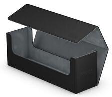 ULTIMATE GUARD ARKHIVE BLACK XENOSKIN FLIP 400+ DECK CASE Card Storage Box MTG