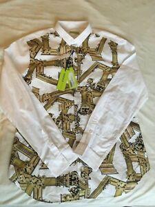 BNWT Versace Jeans Roman Columns shirt SS19 RRP $480