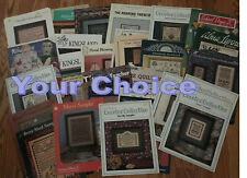 Pat Rogers Samplers, Sampler, counted cross stitch charts - Your Choice