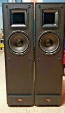Klipsch KSF 8.5 Floor Standing Tower Speakers Black Pair Set Home Theater 8 Ohms