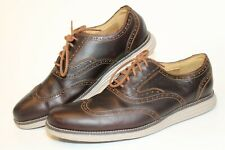 Cole Haan Grand.Os Mens Size 10.5 M Leather Lace Up Wingtip Oxford Shoes C23427