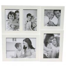 Bilderrahmen weiß für 5 Bilder Collage Fotocollage Bildercollage