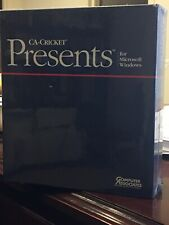 BRAND NEW CA-Cricket Presents For DOS Or WINDOWS. Still In Shrink Wrap