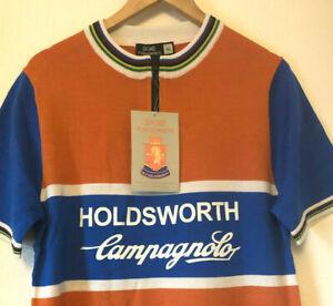 NOS Holdsworth Cycling Jersey, Merino Wool, XL, Short Sleeve, Modern, New Unused