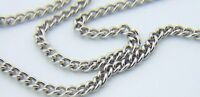 "18"" Stainless Steel Petite Womens Curb Chain For Patron Saint Medal or Crosses"