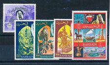 BAHRAIN 1966 DEFINITIVES SG146/150 (HIGH VALUES)  MNH