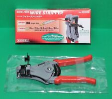 VESSEL 3000B wire stripper 1.0/1.6/2.0/2.6/3.2mm for solid wire 170mm 350g Red