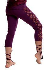 YOGA LEGGINGS - Yoga pants, gothic leggings, lace leggings, steampunk leggings