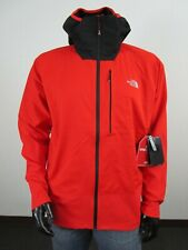 NWT Mens TNF The North Face Summit L4 Windstopper Hooded Climbing Jacket - Red