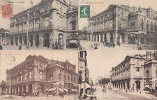 Lot 4 cartes postales anciennes REIMS le théâtre 2