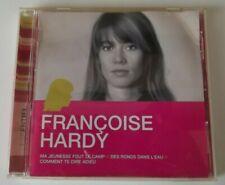 "FRANCOISE HARDY  CD ESSENTIEN ""MA JEUNESSE FOUT LE CAMP """
