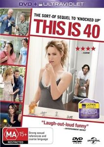 This Is 40 (DVD) Leslie Mann/ Paul Rudd - Region 4 - New and Sealed