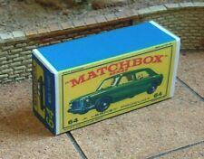MATCHBOX 'REGULAR WHEELS'NO.64B M.G.1100 CUSTOMISED DISPLAY/STORAGE BOX ONLY