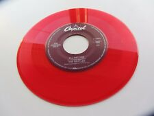THE BEATLES U. S. A. JUKEBOX Solo 45 She Loves You Rojo Vinilo Excelente