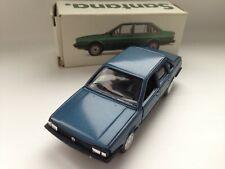 Conrad VW Volkswagen Santana GL blau  mit Original Box 1:43