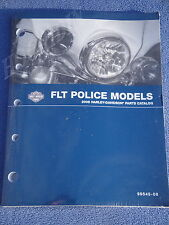 2008 HARLEY PARTS CATALOG MANUAL FLT POLICE 99545-08 TOURING ELECTRAGLIDE
