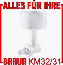 fabrikneue Getreidemühle für Küchenmaschinen Braun KM 32 KM 3 KM31 MX 32 MX31
