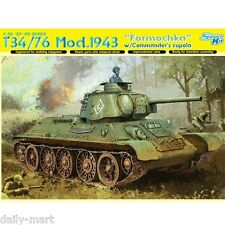 "Dragon 1/35 6603 T-34/76 Mod.1943 ""Formochka"" w/ Commander's Cupola Model Kit"