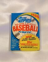 1 - 1989 Topps Baseball Unopened Wax Pack, from New boxes Randy Johnson Rookie??